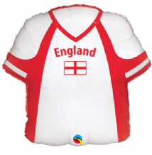 England Shirt Large Foil Balloon 1pc
